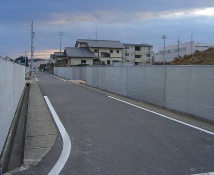 単管シートフェンス